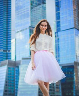 21 Colors Fashion Summer 7 Layer Tulle Skirts