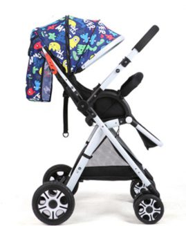 New baby stroller high view light folding baby