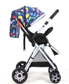 New baby stroller high view light folding baby