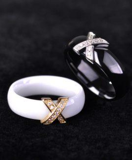 Handmade Ceramics Jewelry Sets Earrings & Rings