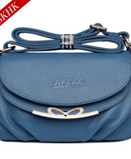 AIBKHK Womne's Genuine Leather Bag Fashion